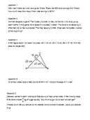 Problem Sums - Primary 5 - Sample #1
